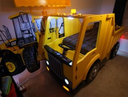 DIY Dump Truck Bed - Working Lights
