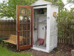 DIY Four-Door Shed