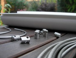 DIY Hanging Gutter Garden - Materials and Tools