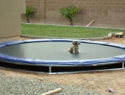 DIY Inground Trampoline