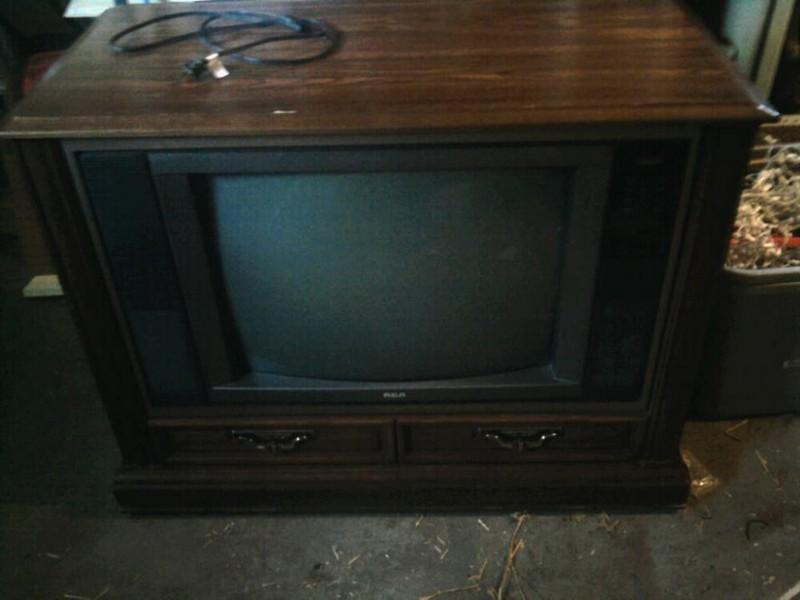 DIY Old TV Dog Bed - TV
