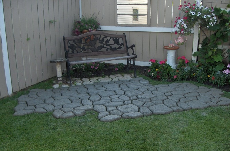 diy paved patio the owner builder network - Diy Patio