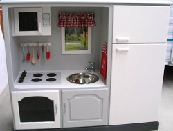DIY Play Kitchen - After