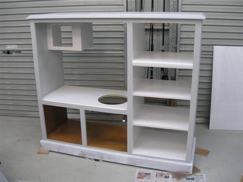 Turn an old TV cabinet into a play kitchen - The Owner ...