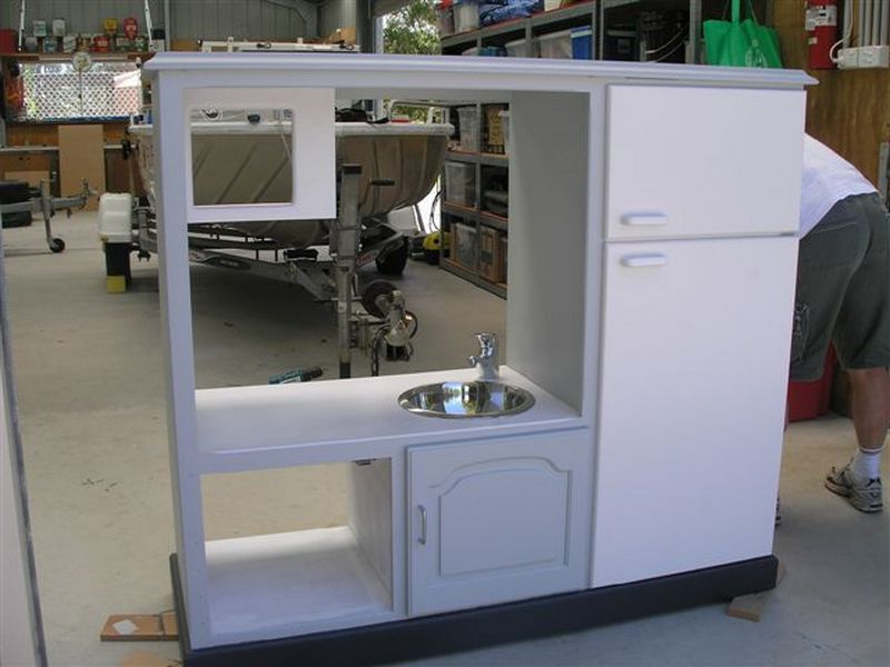 turn an old tv cabinet into a play kitchen the owner builder network