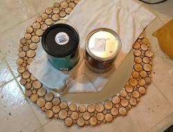 DIY Wood Slice Mirror - Mirror Set