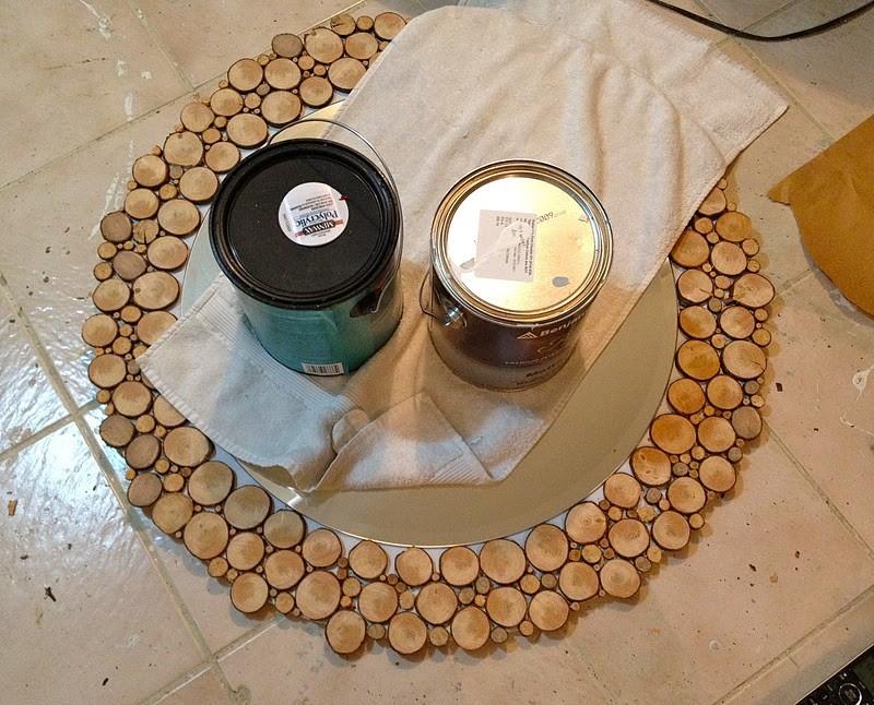 DIY Wood Slice Mirror - Mirror Set