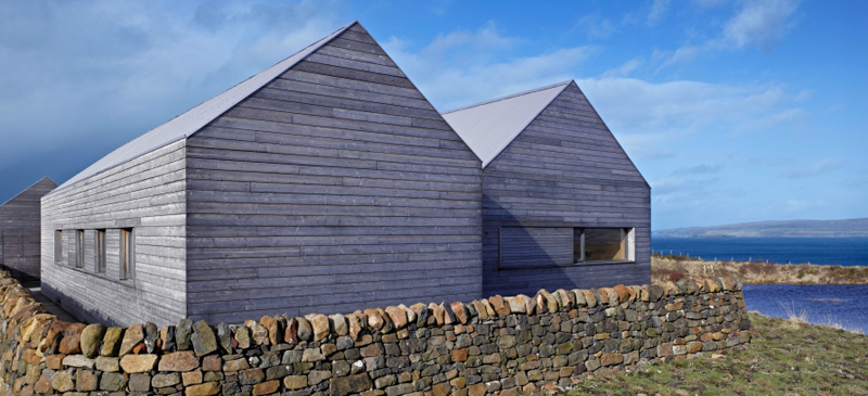 A modern blackhouse built where it truly belongs.
