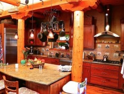 H and H Straw Bale Home - Kitchen