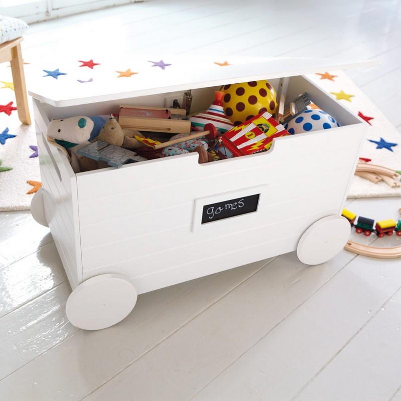 Toy Storage With Wheels