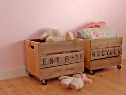 Crate Toy Storage
