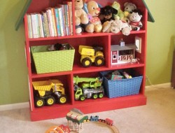 Doll House Toy Storage