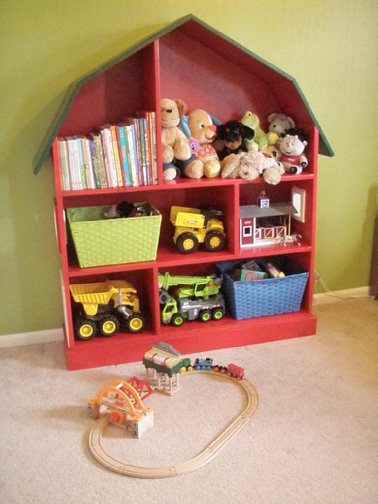 Doll House Toy Storage