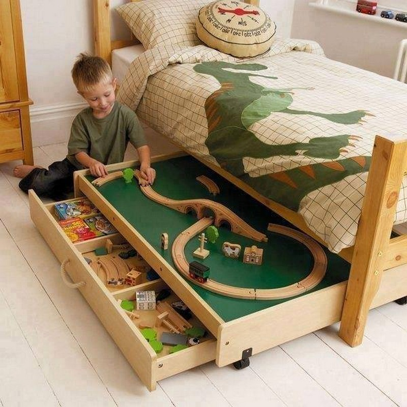 Trundle Toy Storage