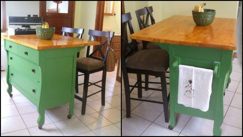 diy dresser kitchen island the owner builder network rh theownerbuildernetwork co make your own kitchen island out of a dresser how to make a kitchen island out of an antique dresser