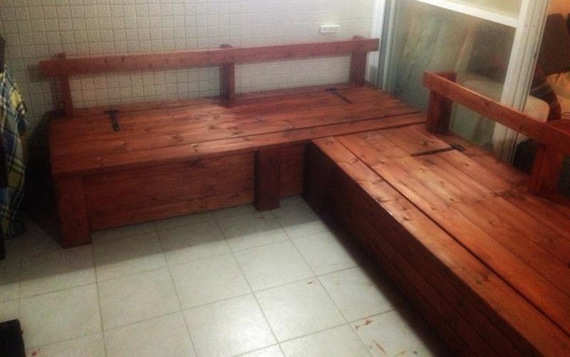 Indoor Pallet Bench Diy Indoor Bench With Storage