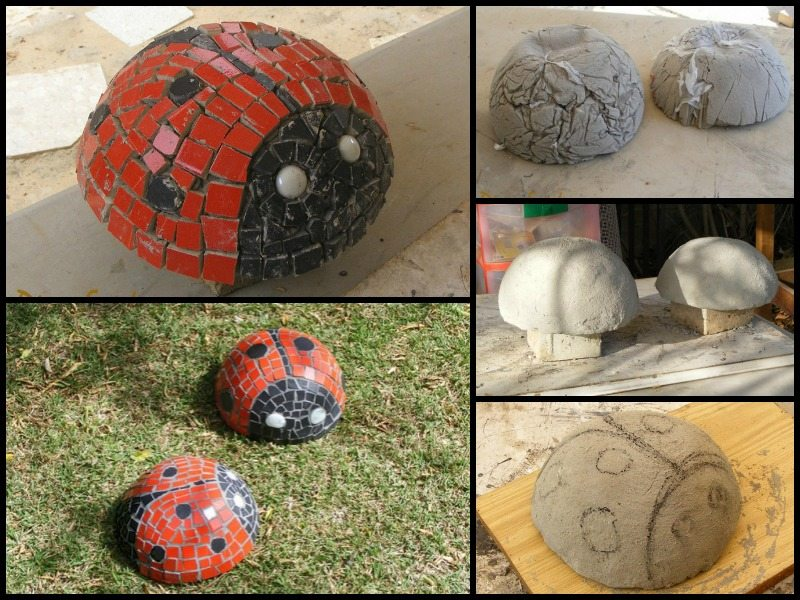 Diy Mosaic Lady Bugs The Owner Builder Network