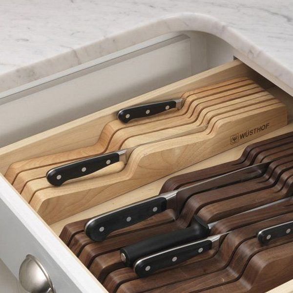Clever Ideas For Storing Your Kitchen Knives The Owner Builder Network