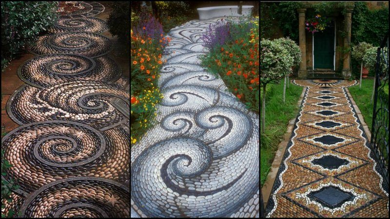 Mosaic Garden Path The Owner Builder Network