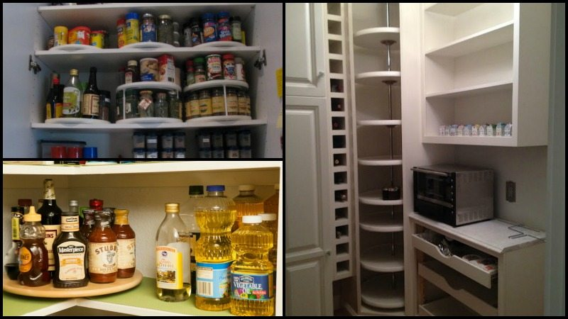 Delicieux Lazy Susan Pantry Storage