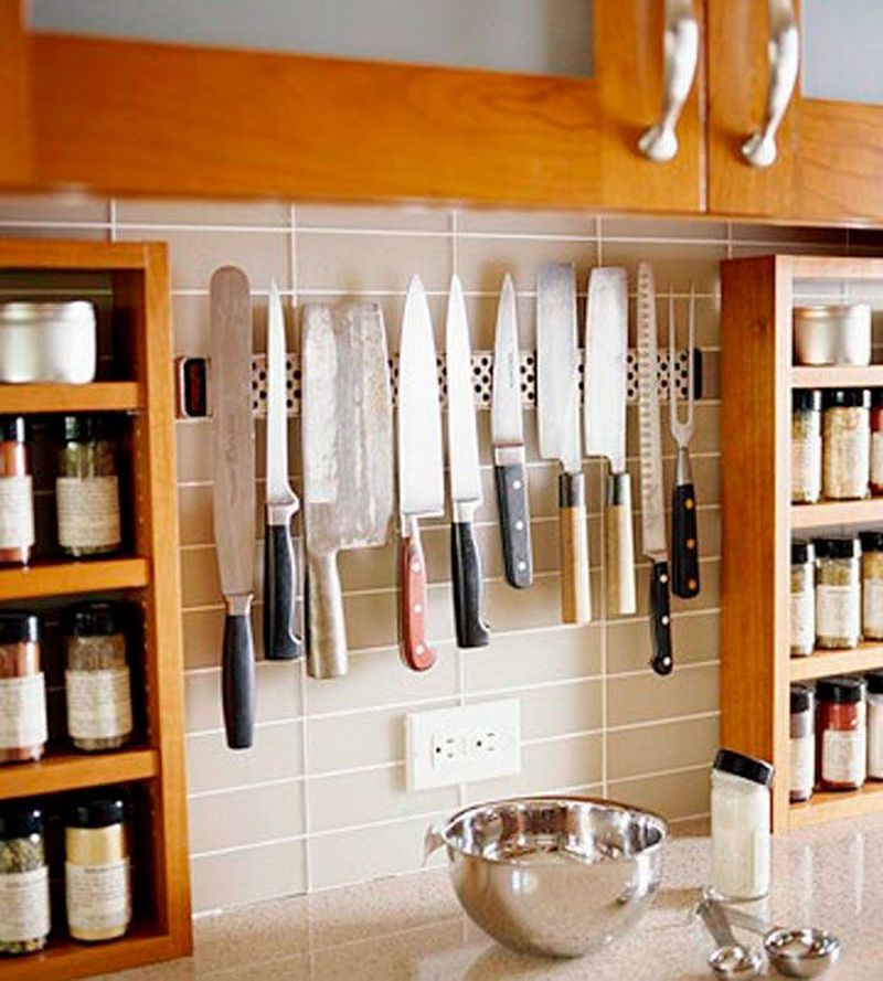Diy Magnetic Knife Strip: Clever Ideas For Storing Your Kitchen Knives