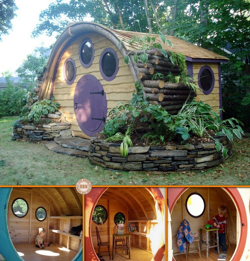 Hobbit Hole Playhouses The Owner