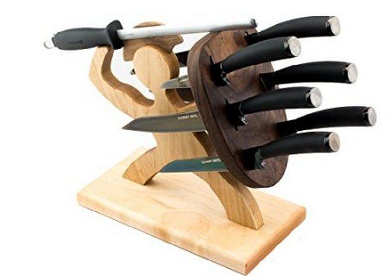 Jewelled Sandals Sparta Knife Block