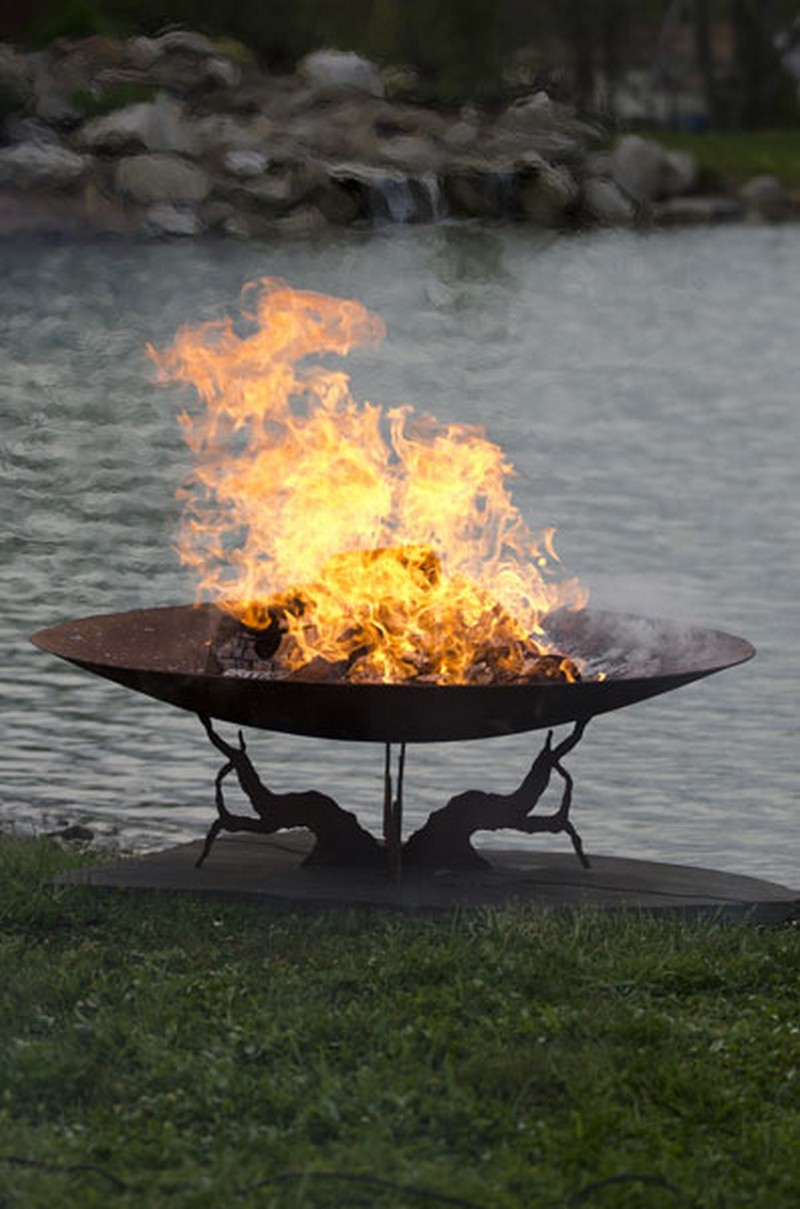 Artistic Sphere Fire Pit | The Owner-Builder Network