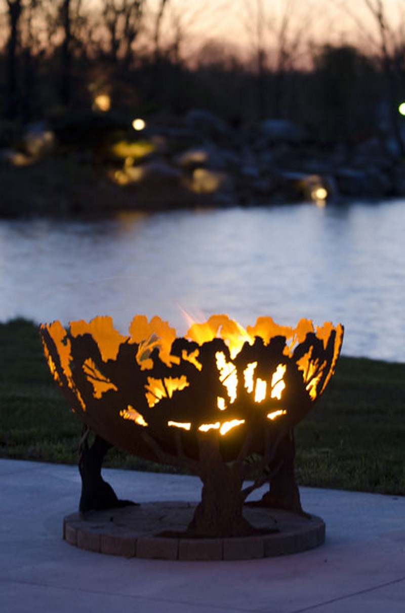 - Artistic Sphere Fire Pit The Owner-Builder Network