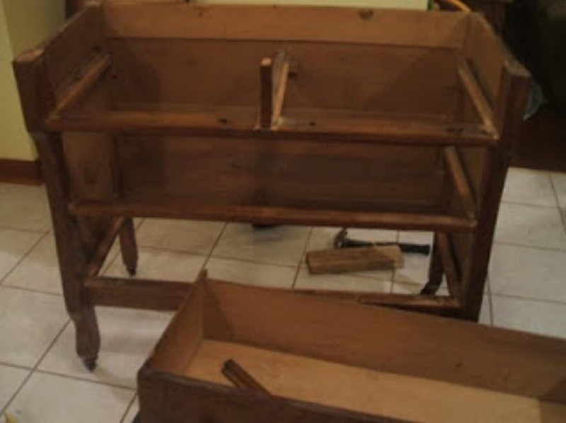DIY Dresser Kitchen Island