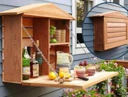 DIY Fold-Down Murphy Bar