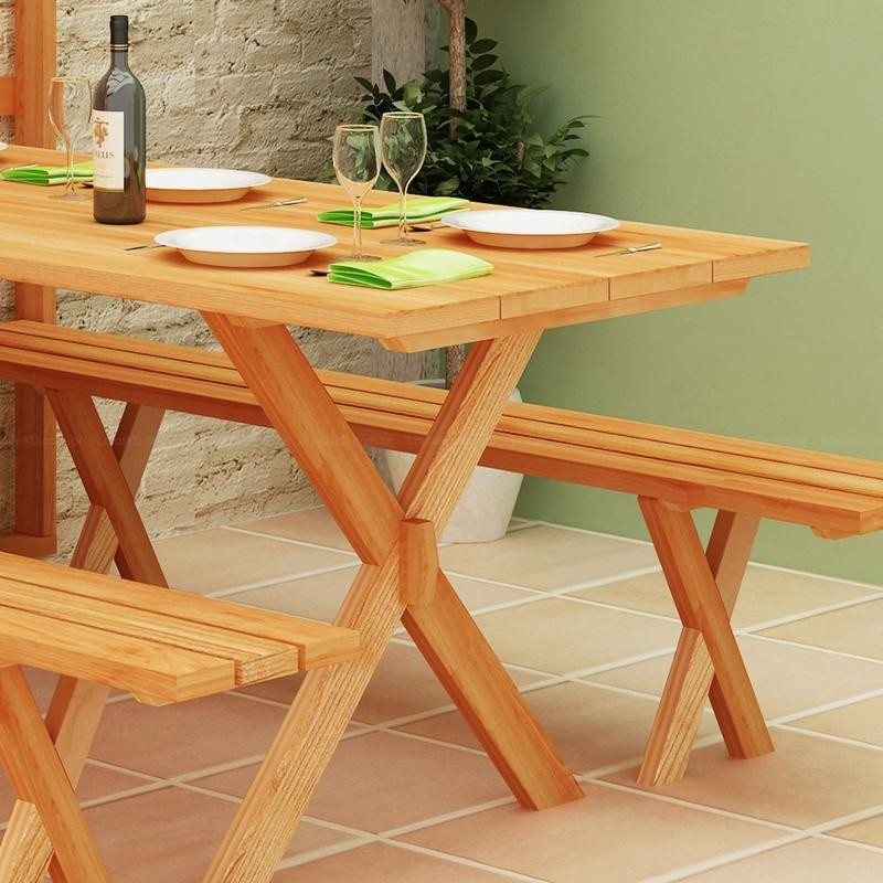 DIY Fold Up Picnic Table