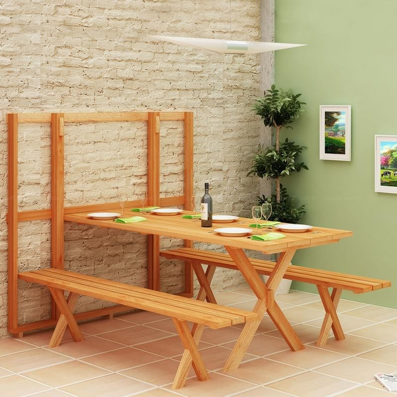 Fold up picnic table the owner builder network for Fold up craft table