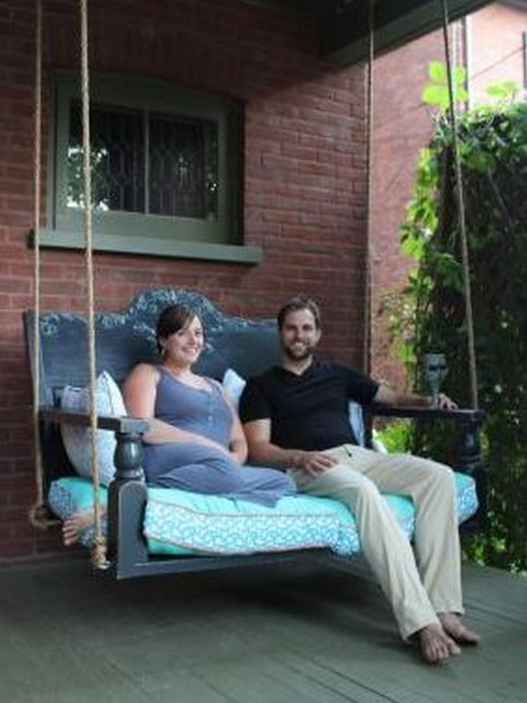 DIY Porch Swing
