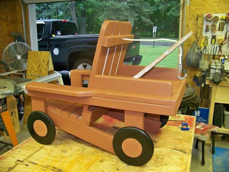 DIY Adirondack Chair Tow Truck