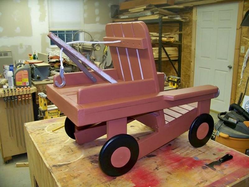 Merveilleux DIY Adirondack Chair Tow Truck