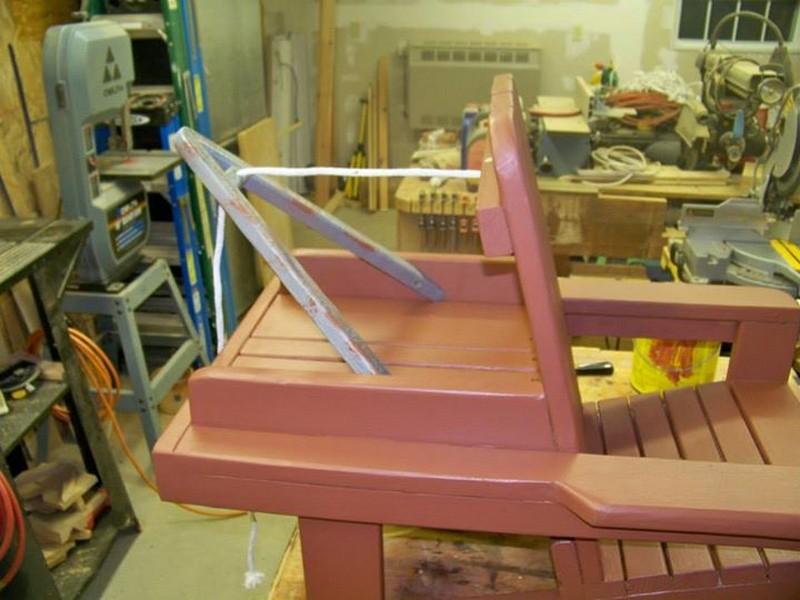 Beau DIY Adirondack Chair Tow Truck