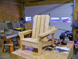 DIY Adirondack Chair Tow Truck