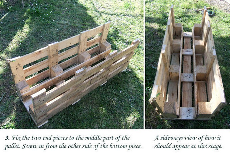 Diy strawberry pallet planter the owner builder network for Diy pallet projects with instructions