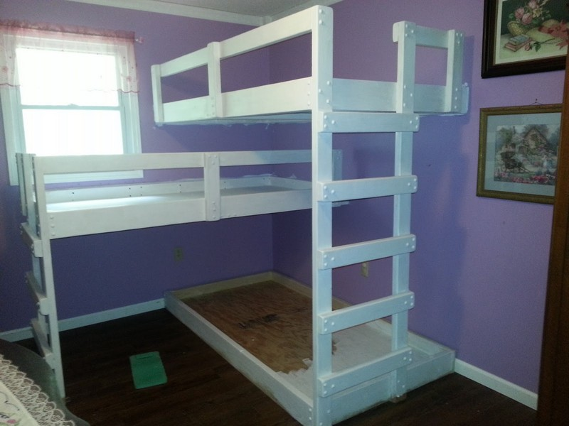 Building Plans for Triple Bunk Beds