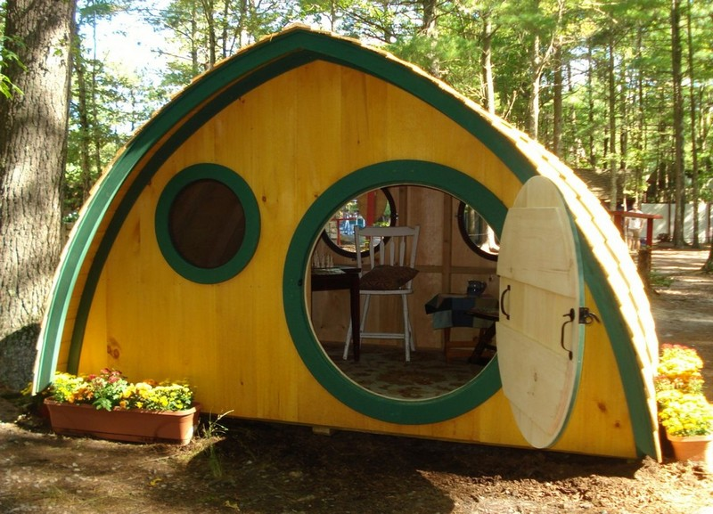 Hobbit Hole Playhouses