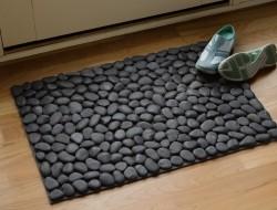 DIY River Rock Doormat