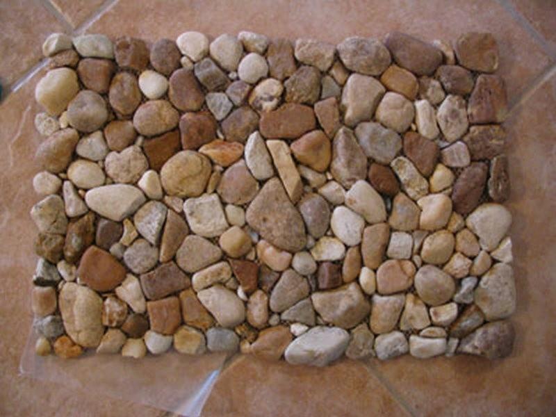 Attirant River Rock Doormat
