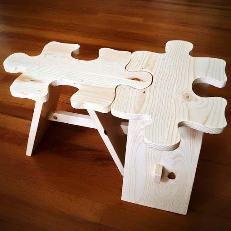 Jigsaw Coffee Table - The Owner-Builder Network