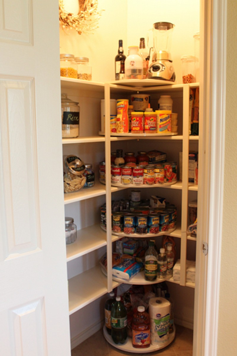 building a pantry cabinet storage ideas | How to make a lazy susan pantry storage – The Owner ...