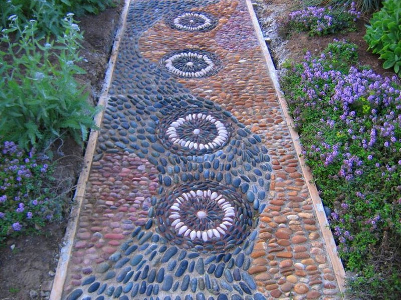 Mosaic Garden Path The Owner Builder Network