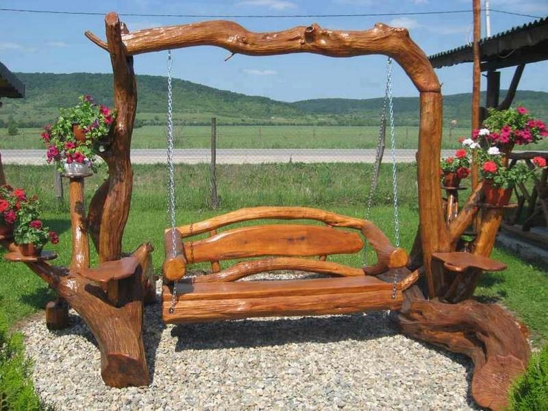 Rustic Swings