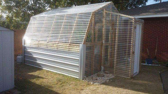 Diy Barn Greenhouse The Owner Builder Network