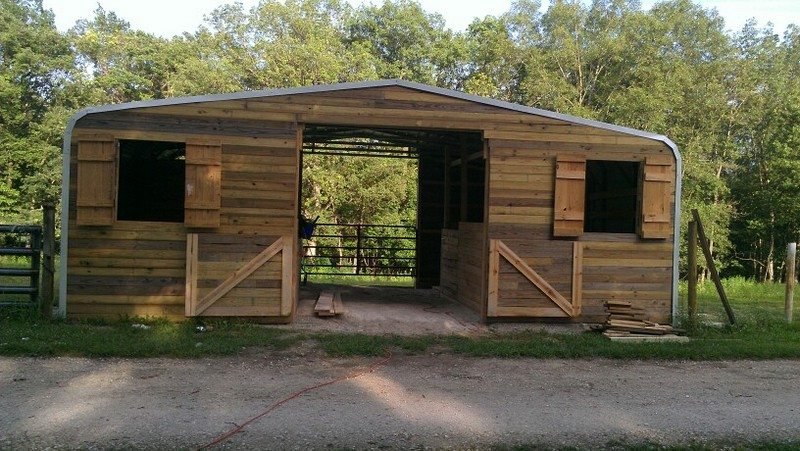 Turn A Carport Into A Barn The Owner Builder Network
