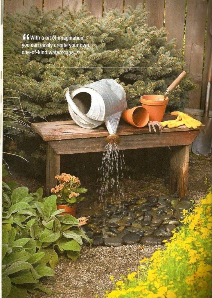 DIY Garden Fountain - The Owner-Builder Network